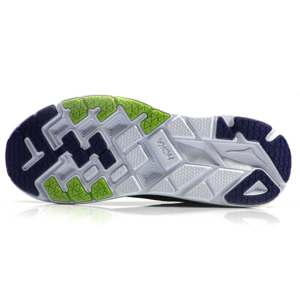 Hoka One One Clifton 5 Men's Running Shoe Sole View