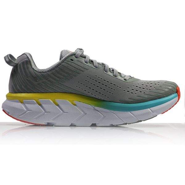 Hoka One One Clifton 5 Women's Running Shoe Back View