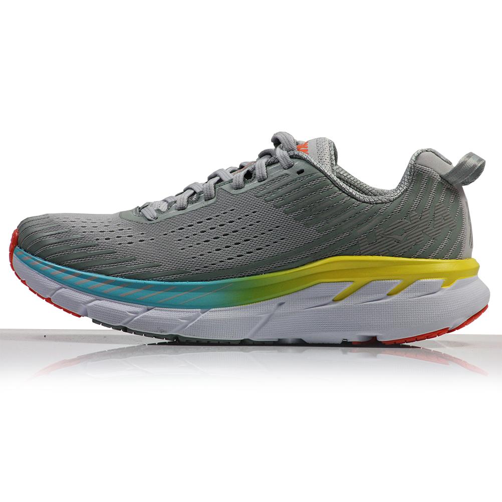 5ce02242f718b Hoka One One Clifton 5 Women s Running Shoe Side View