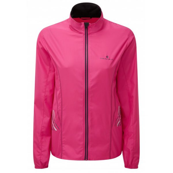 Ronhill Stride Windspeed Women's Running Jacket Front View