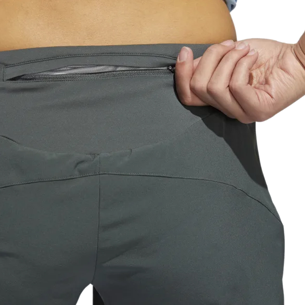 725623ea0 adidas Supernova Saturday Women s Running Short Detail Back Sip Pocket View