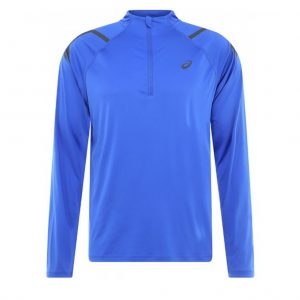 Asics Icon Half Zip Men's Running Top Front View