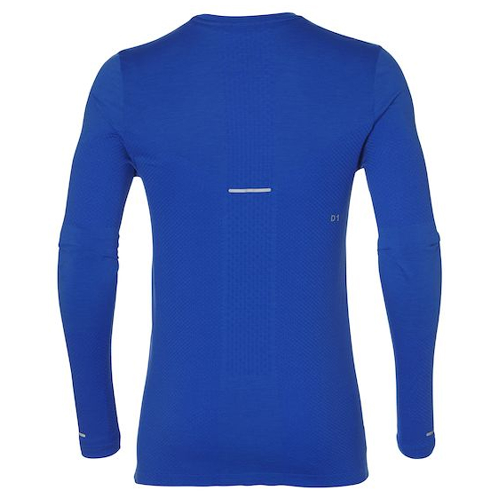 0cf39c6c44 Asics Seamless Long Sleeve Men s Running Top Back View