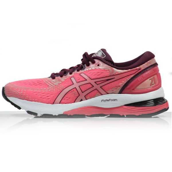 Asics Gel Nimbus 21 Women's Running Shoe Side View