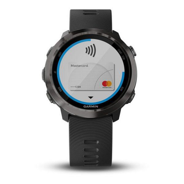 Garmin Forerunner 645 Music HRM Running Watch Front View