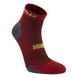 Hilly Pace Running Socks Side View