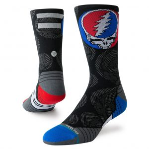 Stance Dead Head Run Men's Crew Sock Both Socks View