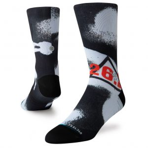 Stance Marathon Lite Run Men's Crew Running Sock Both View