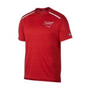 Nike Miler Short Sleeve Men's Running Tee Front View