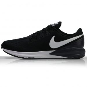 Nike Air Zoom Structure 22 Women's Running Shoe black whits side
