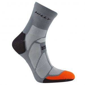 Hilly Marathon Fresh Men's Running Sock Side View