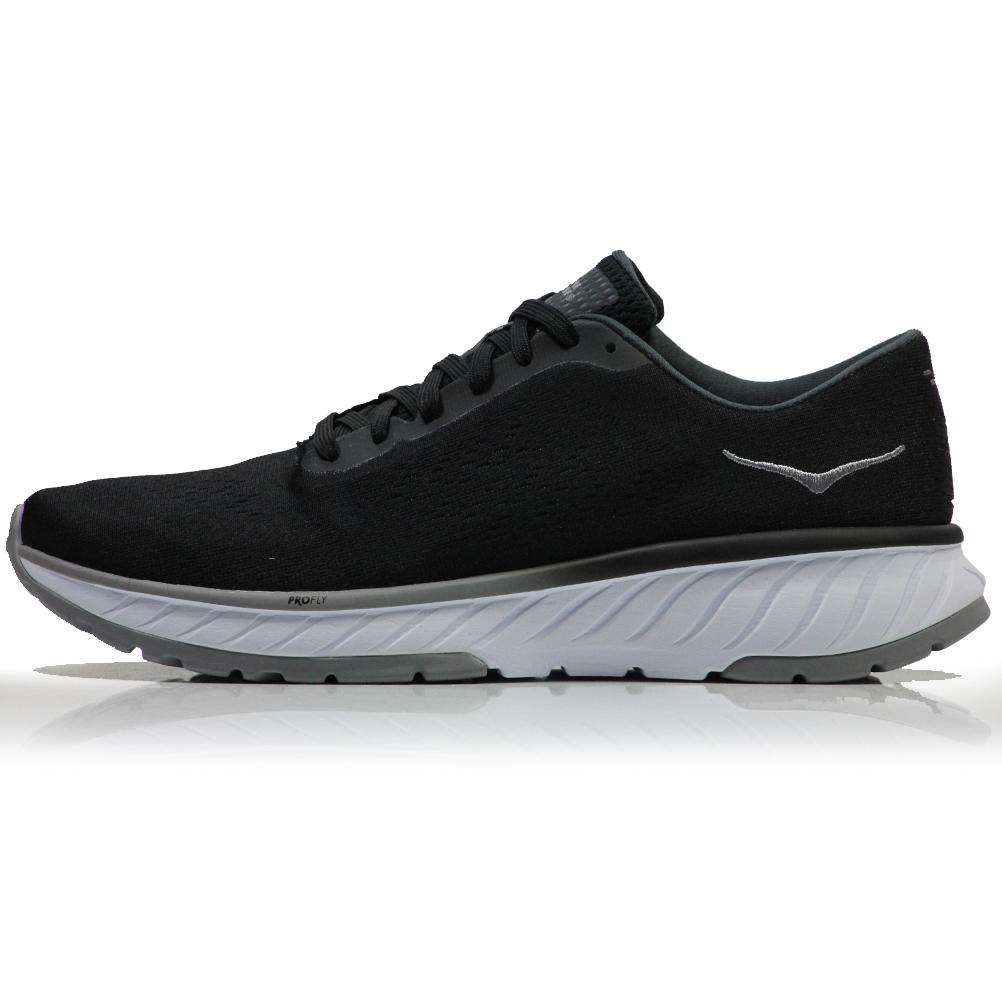 7ea4faf29 Hoka One One Cavu 2 Men's Running Shoe - Black/White   The Running ...