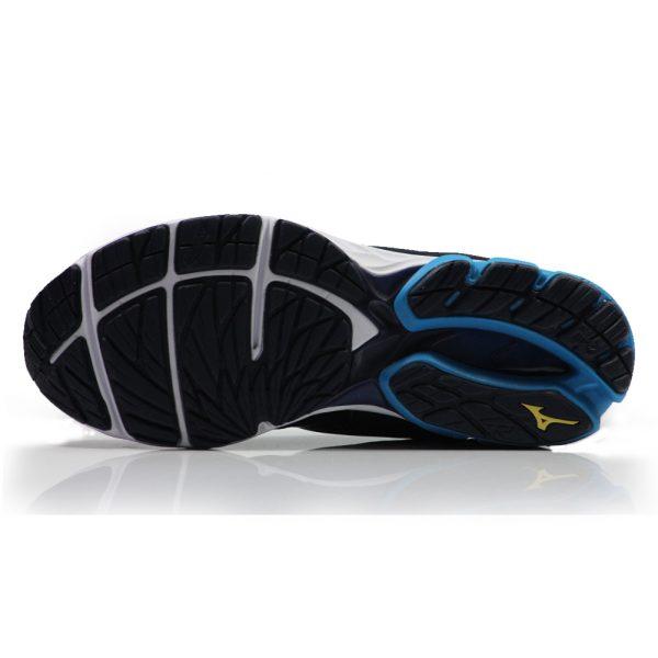 Mizuno Wave Rider 22 Men's Running Shoe Sole View
