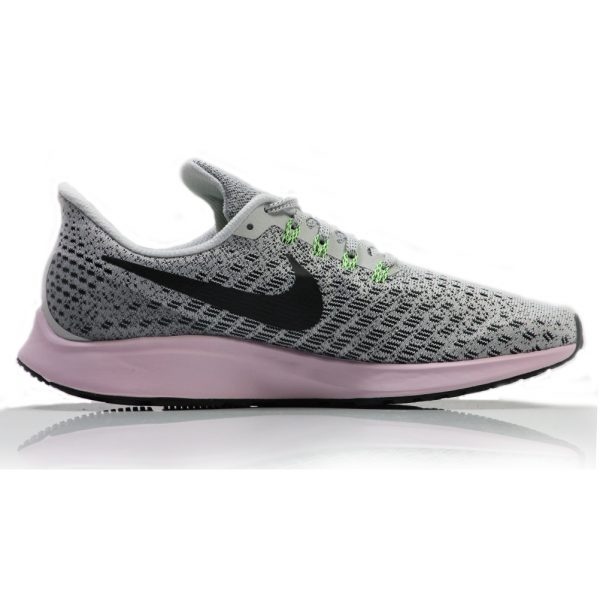 6d2744b3a86d5 Nike Air Zoom Pegasus 35 Women s Running Shoe - Vast Grey Black-Pink Foam