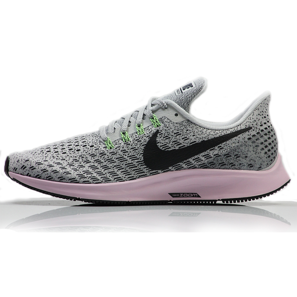 ef77092b2a147 Nike Air Zoom Pegasus 35 Women's Running Shoe - Vast Grey/Pink Foam ...