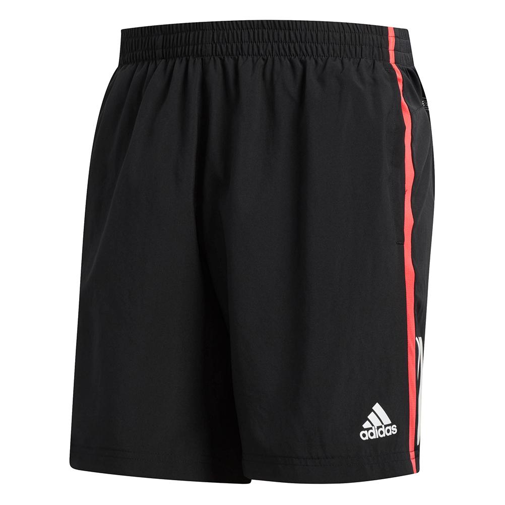 5c346581869 Adidas Own The Run 5 inch Men's Running Shorts - Black/Shock Red ...