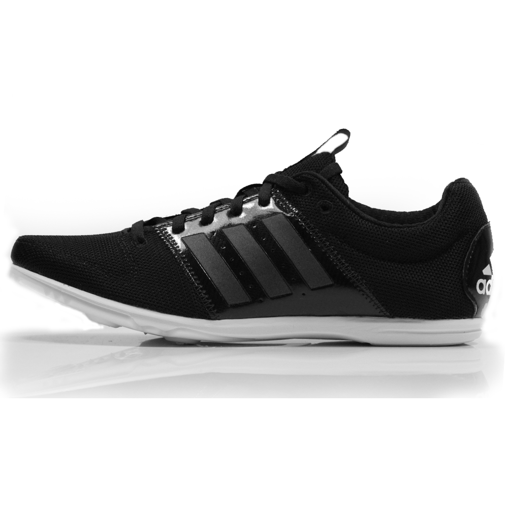 000a05377 adidas Allroundstar Junior Running Spike - Black White