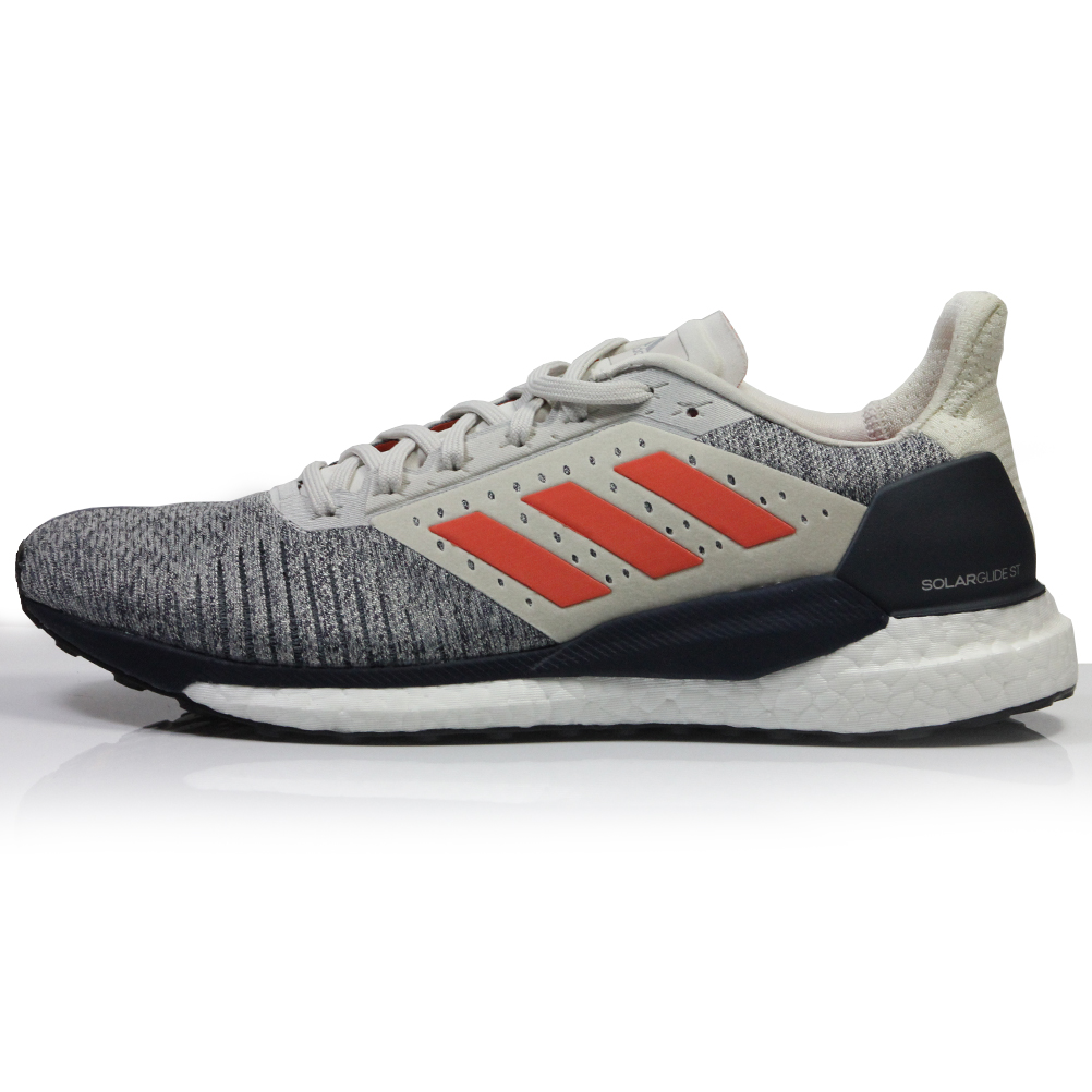 f08cc090d7a9b adidas Solar Glide ST Men s Running Shoe - Raw White True Orange ...