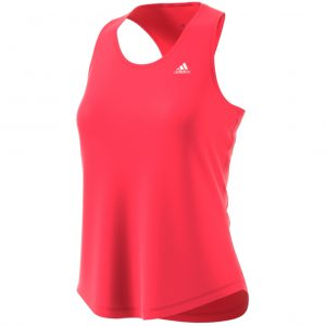 adidas run it womens tank red front