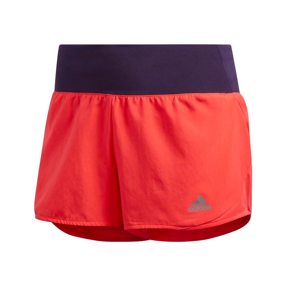 84859ccebf Adidas Run It Women's Running Short - Shock Red/Legend Purple