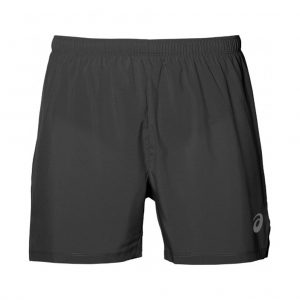 Asics Silver 5inch Men's Running Short Front View