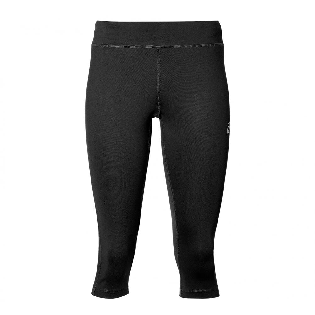 7c8f09ce2a99 Asics Silver Women s Running Knee Tight - Performance Black