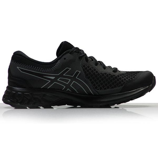 asics gel sonoma 4 gtx womens trail shoe black back