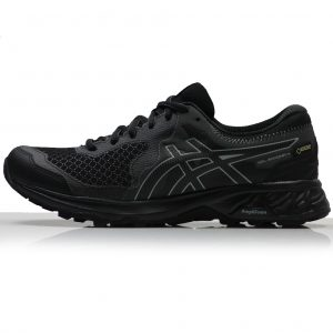 asics gel-sonoma 4 gtx womens trail shoe black side