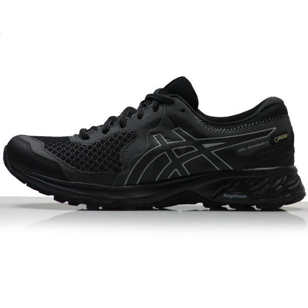 asics gel-sonoma 4 gtx womens trail shoe black side