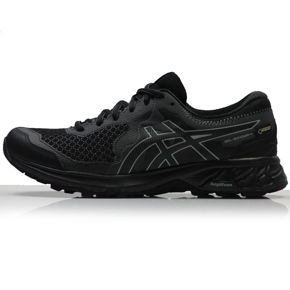 Asics Gel-Sonoma 4 G-TX Women's Trail Shoe - Black/Stone Grey