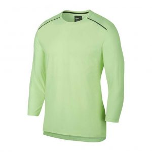 Nike Rise 365 three Quarter Men's Long Sleeve Tee Front View
