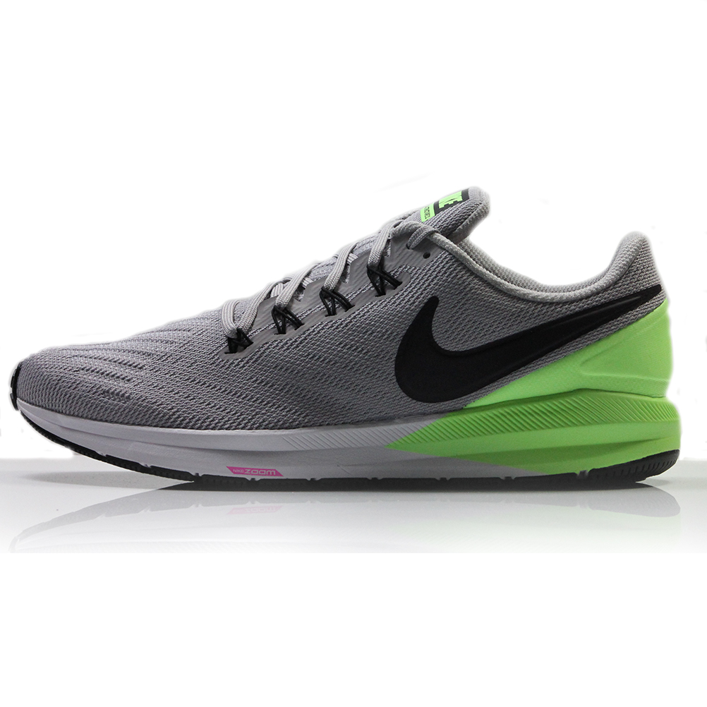 new concept 3d93f 9059b Nike Air Zoom Structure 22 Men's Running Shoe Atmosphere Grey/Burgundy  Ash-Lime Blast
