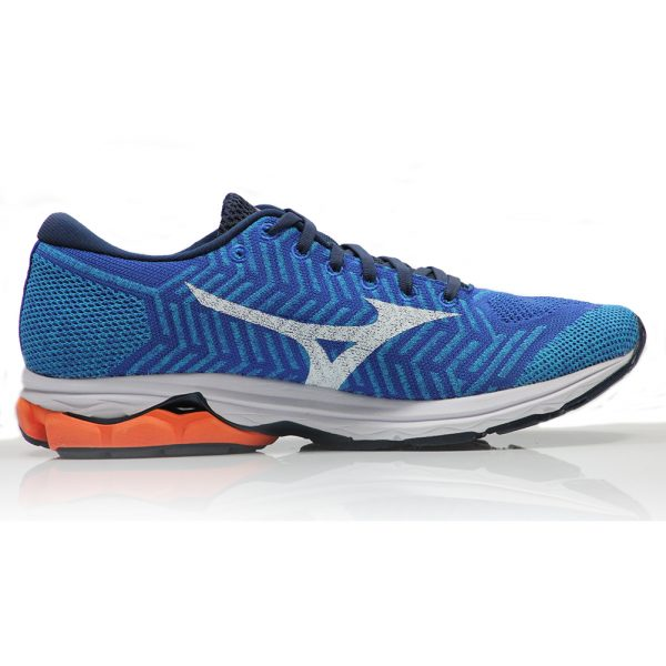 Mizuno Waveknit R2 Men's Running Shoe - Nautical Blue Back