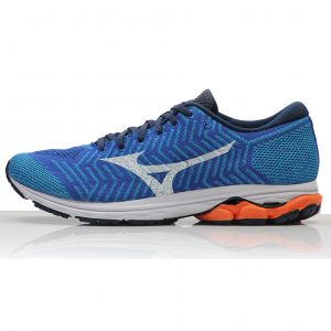 Mizuno Waveknit R2 Men's Running Shoe - Nautical Blue Side
