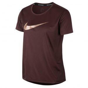 Nike Miler Short Sleeve Women's Running Tee el dorado front