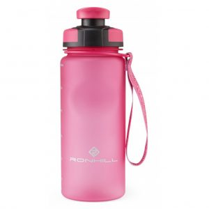 Ronhill H20 600ml Water Bottle pink