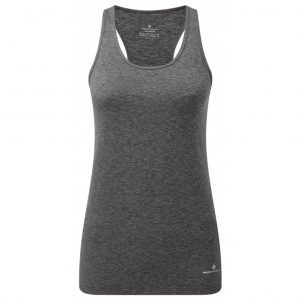 Ronhill Momentum Women's Running Body Tank grey front