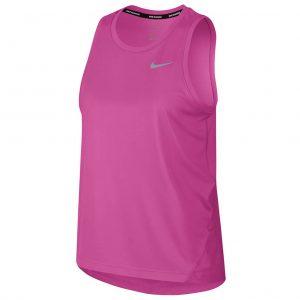Nike Miler Women's Running Tank fuchsia front