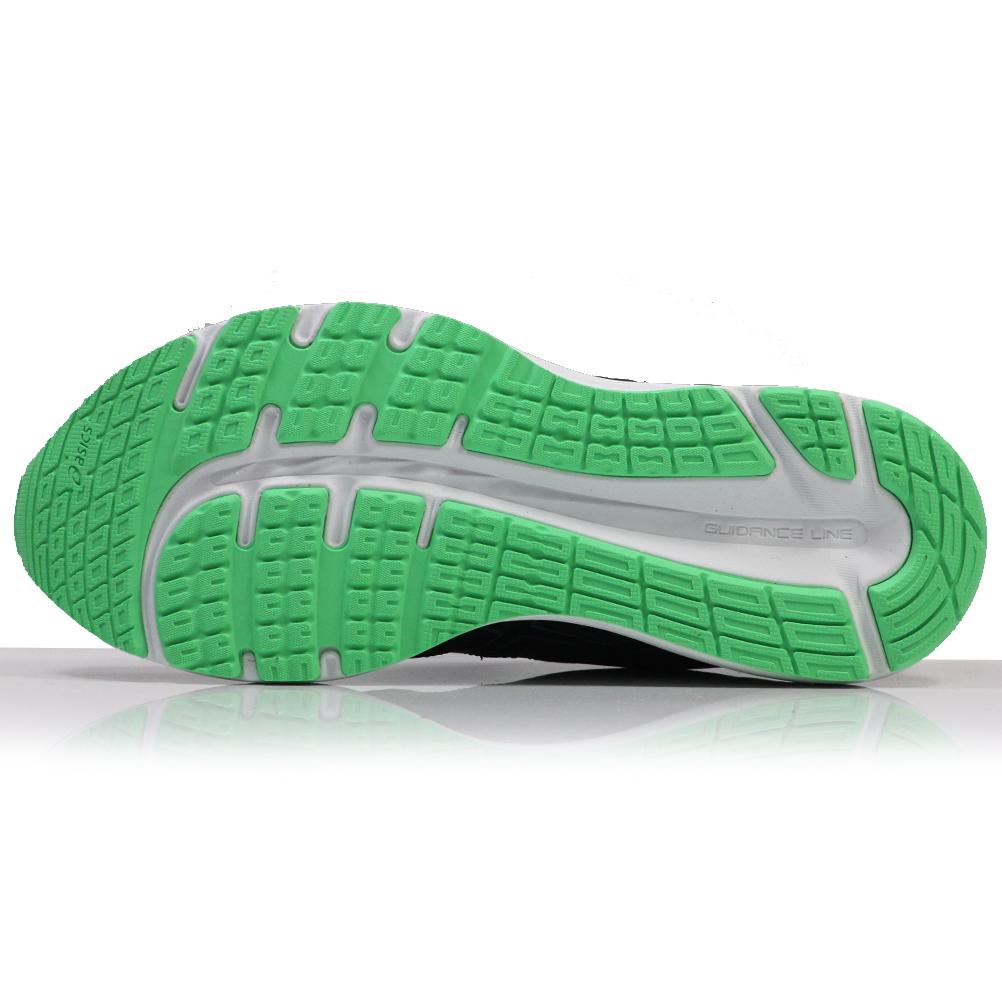 Asics Gel Cumulus 20 Junior Running Shoe BlackBeryl Green