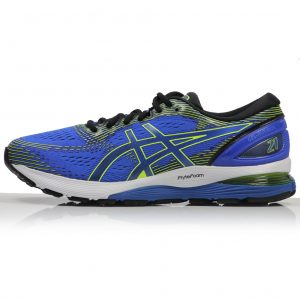 asics mens nimbus blue