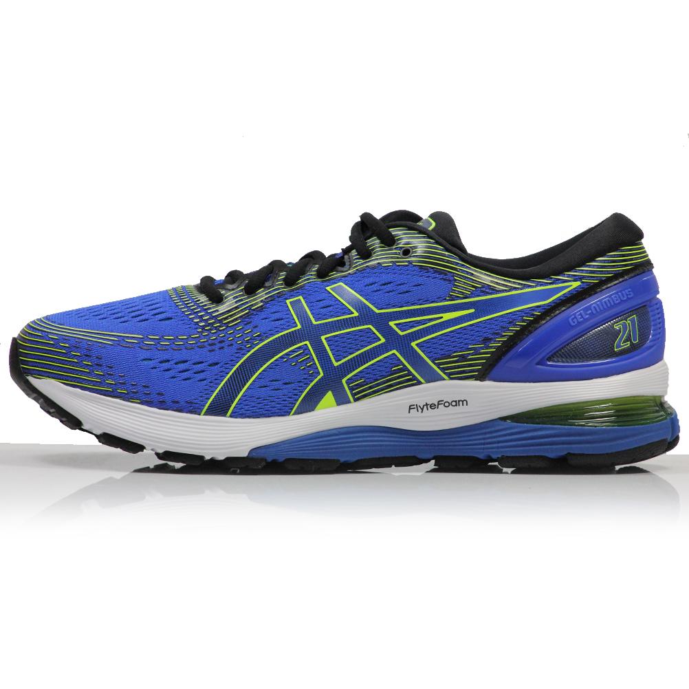 Illusion Asics Gel 21 Nimbus Blueblack Men's Running Shoe