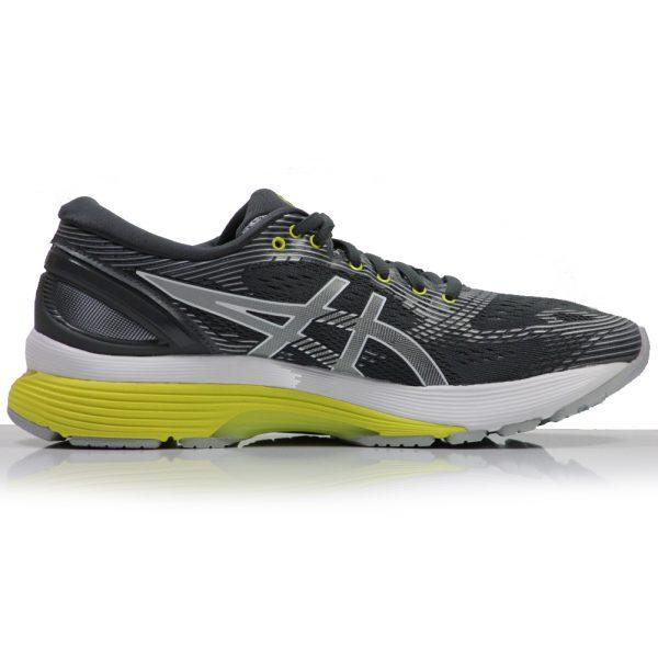 Asics Gel Nimbus 21 Women's Running Shoe grey back