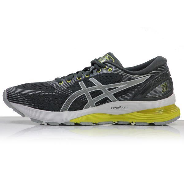 Asics Gel Nimbus 21 Women's Running Shoe grey side