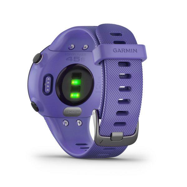 Garmin Forerunner 45 HRM Running Watch iris back