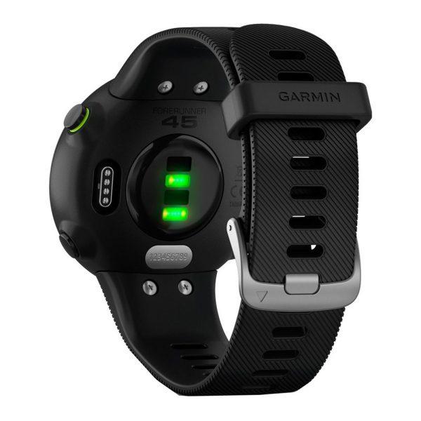 Garmin Forerunner 45 HRM Running Watch black back