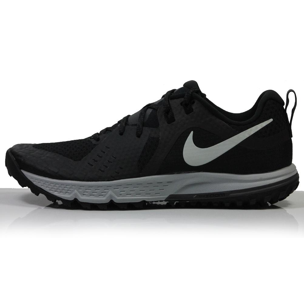 new product 838f8 8664c Nike Air Zoom Wildhorse 5 Men's Trail Running Shoe - Black/Thunder  Grey/Wolf Grey/Barely Grey