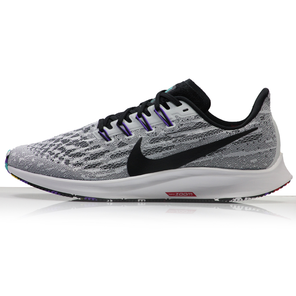 low priced 4ecb3 887bb Nike Air Zoom Pegasus 36 Men's Running Shoe - White/Hyper Grape