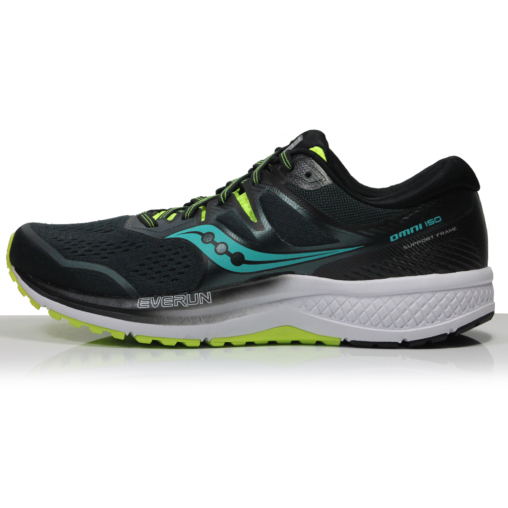 newest 47df9 7b234 Saucony Omni ISO 2 Men's Running Shoe - Green/Teal