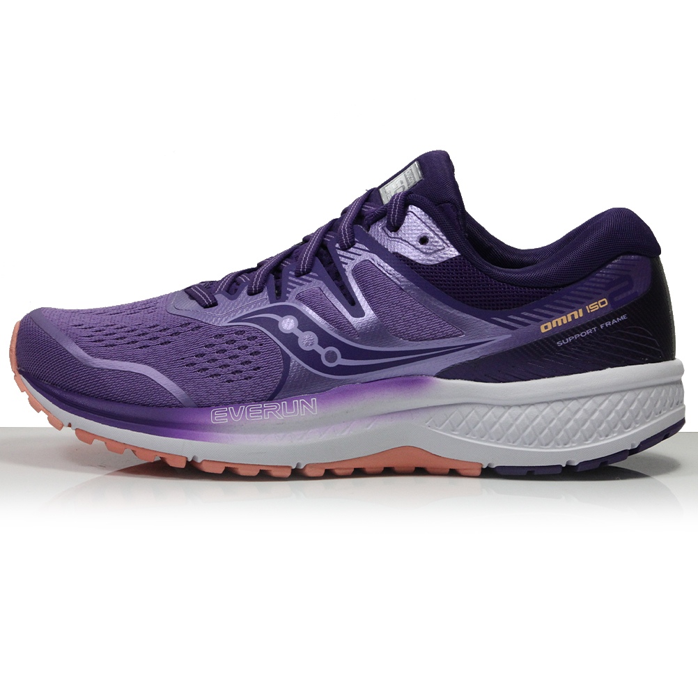 94e6e5b7af Saucony Omni ISO 2 Women's Running Shoe - Purple/Black/Pink