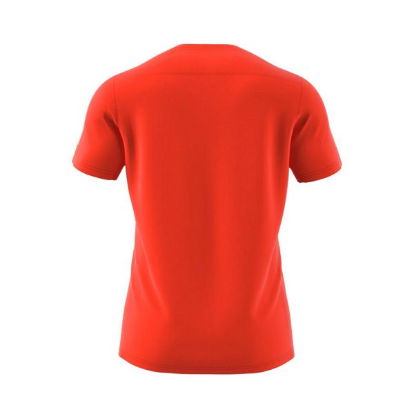 adidas Own The Run Short Sleeve mens orange back